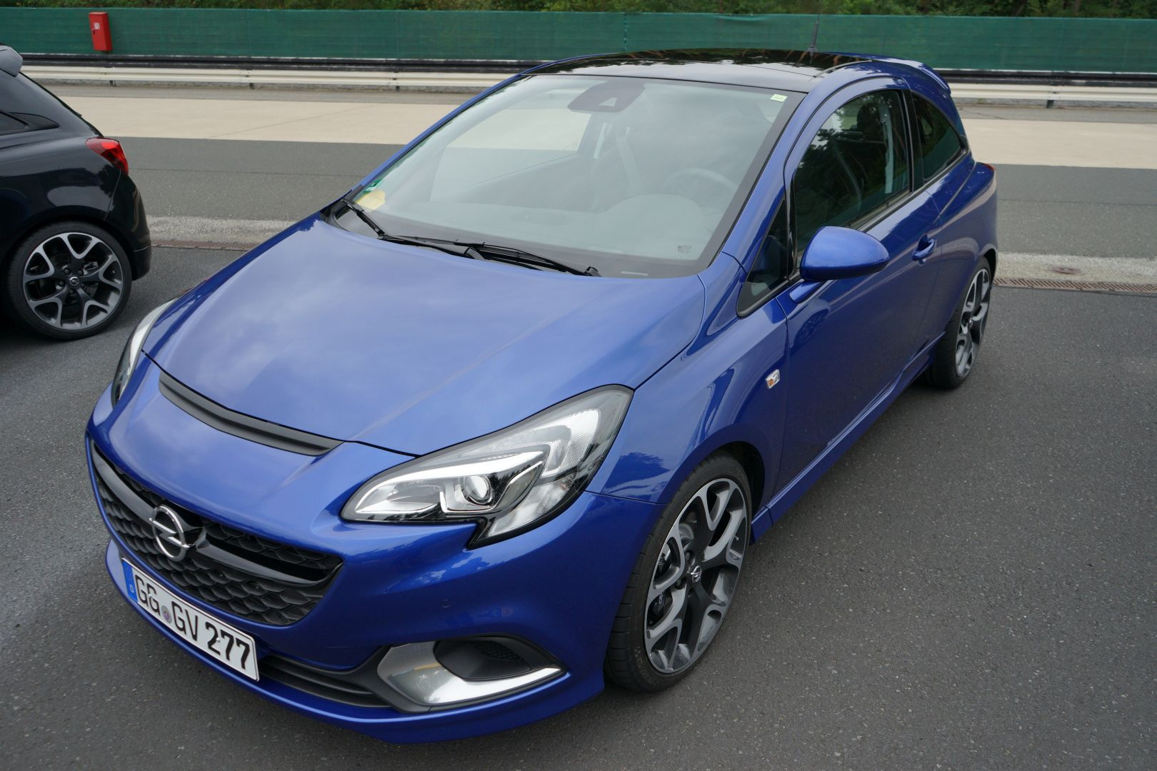 opel corsa e opc blau front 2015 ubi testet. Black Bedroom Furniture Sets. Home Design Ideas